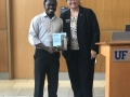 Isaac wins 'Outstanding Post Doc' award!